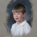 Edward, Pastel, 17x19