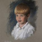 Henry, Pastel, 17x19