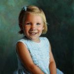 Katelyn in Blue, Oil, 16x20