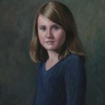 Meg, Oil, 16x20