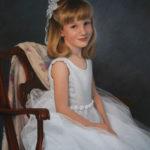 Sarah at Six, Pastel, 20x27
